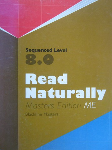 Read Naturally ME Sequenced Level 8.0 BLM (P) by Jane Matsoff