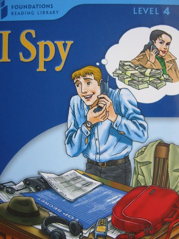 Foundations Reading Library 4 I Spy (P) by Waring & Jamall