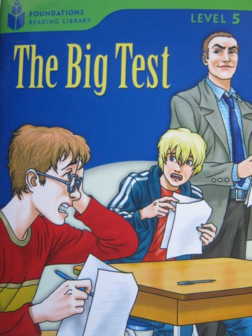 Foundations Reading Library 5 The Big Test (P) by Waring,