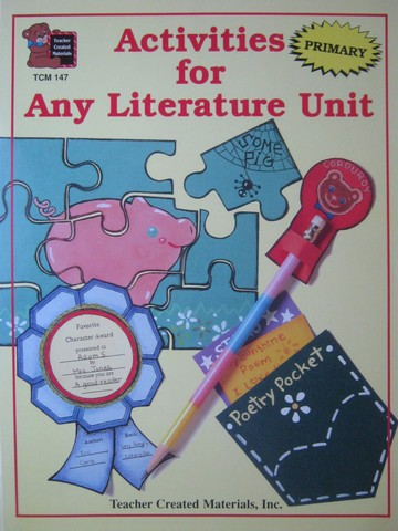 Activities for Any Literature Unit Primary (P) by Carey,
