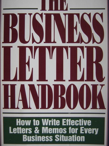 Business Letter Handbook (P) by Muckian & Woods