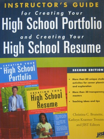 Creating Your High School Portfolio & Resume 2nd Edition IG (P)