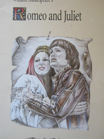 Streamlined Shakespeare Romeo & Juliet (P) by Anderson,