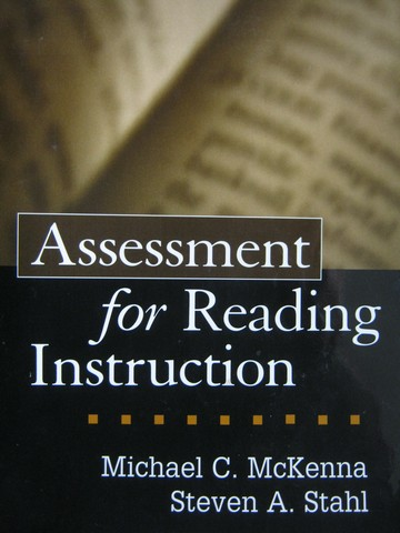 Assessment for Reading Instruction (P) by McKenna & Stahl