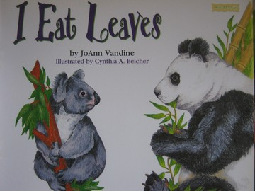 Book Shop B I Eat Leaves (P) by JoAnn Vandine