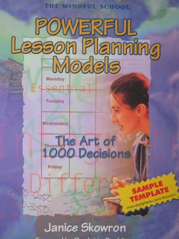 Mindful School Powerful Lesson Planning Models (P) by Skowron