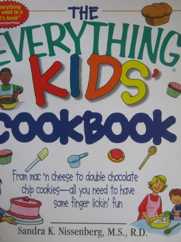 Everything Kids' Cookbook (P) by Sandra N Nissenberg