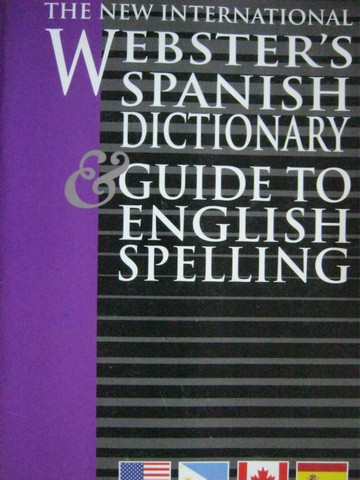 New International Webster's English Spanish Dictionary (P)