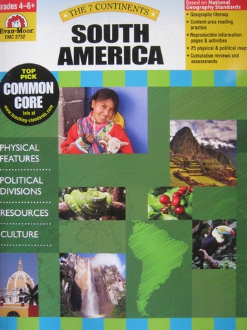 7 Continents South America Grades 4-6+ (P) by Rachel Lynette