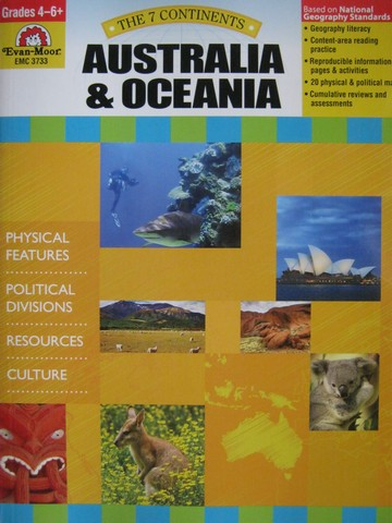 7 Continents Australia & Oceania Grades 4-6+ (P) by Lynette