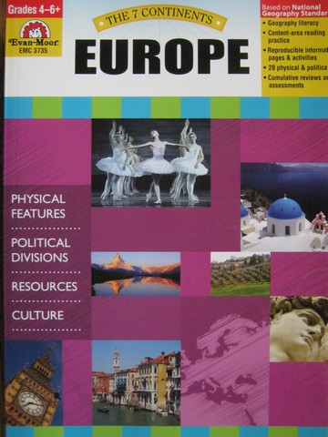 7 Continents Europe Grades 4-6+ (P) by Joanne Mattern