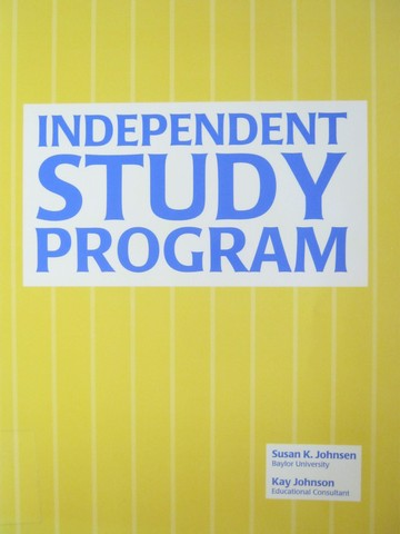 Independent Study Program (P) by Susan K Johnson & Kay Johnson - Click Image to Close