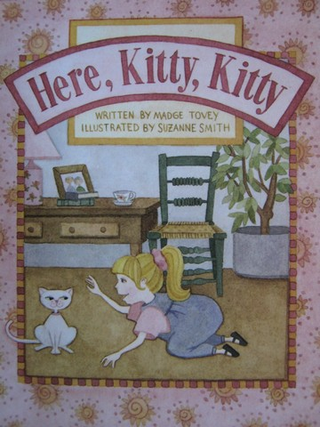Read with Me Here Kitty Kitty (P) by Madge Tovey