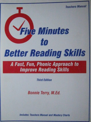 Five Minutes to Better Reading Skills 3rd Edition TM (Spiral)