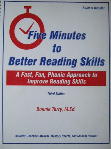 Five Minutes to Better Reading Skills 3e Student Book (Spiral)