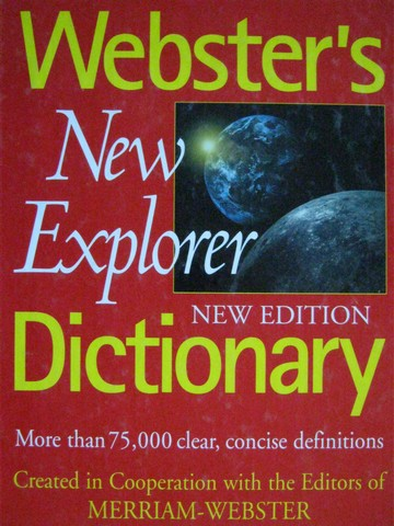 Webster's New Explorer Dictionary New Edition (H)