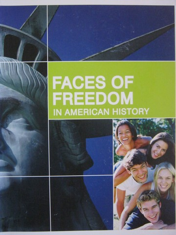Faces of Freedom in American History (Spiral) by Burchard