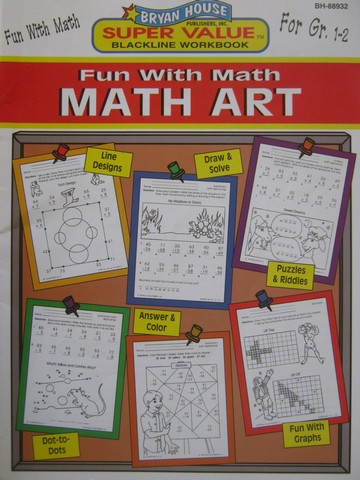 Fun with Math Art Grades 1-2 (P) by Kathleen Knoblock