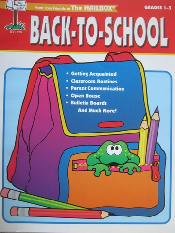 Back-to-School Grades 1-3 (P) by Michel, Wolf, Holcomb & Murphy