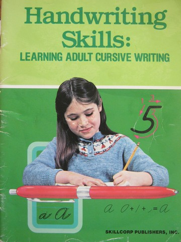 Handwriting Skills Learning Adult Cursive Writing 5 (P)