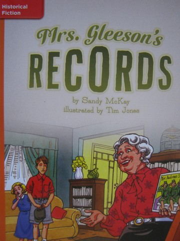 CCSS 5 Mrs. Gleeson's Records (P) by Sandy McKay