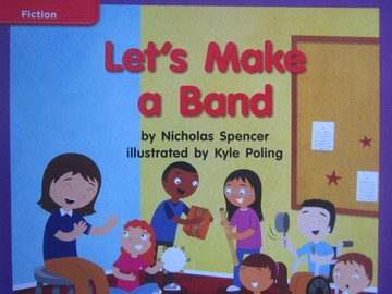 CCSS K Let's Make a Band (P) by Nicholas Spencer