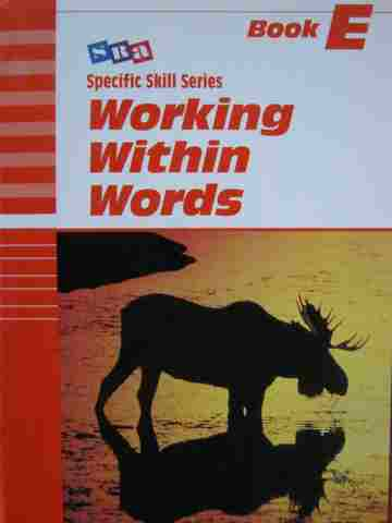 Specific Skill Series Working with Words E 5th Edition (P)