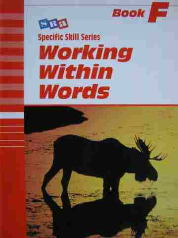 Specific Skill Series Working with Words F 5th Edition (P)