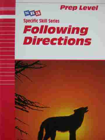 Specific Skill Series Following Directions Prep 5th Edition (P)