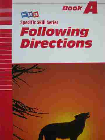 Specific Skill Series Following Directions A 5th Edition (P)