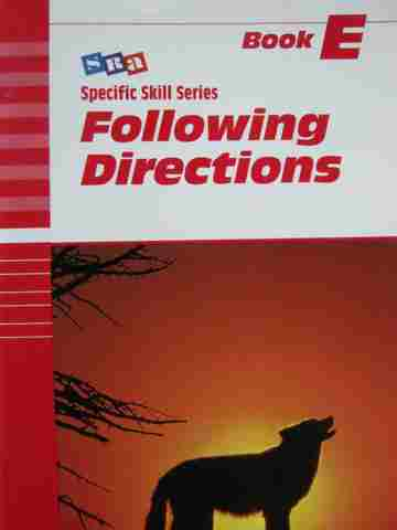 Specific Skill Series Following Directions E 5th Edition (P)