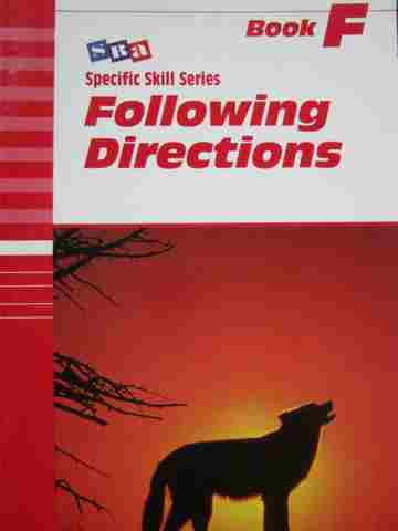 Specific Skill Series Following Directions F 5th Edition (P)