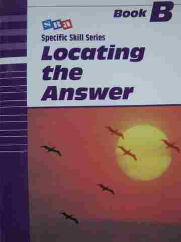 Specific Skill Series Locating the Answer B 5th Edition (P)
