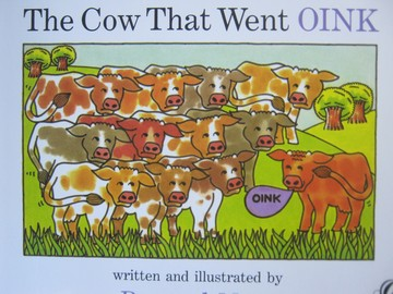Cow That Went Oink (P) by Bernard Most