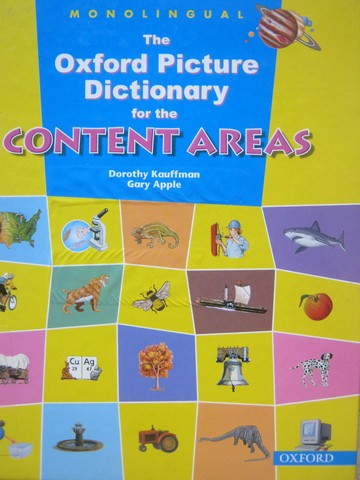 Oxford Picture Dictionary for the Content Areas Monolingual (H)