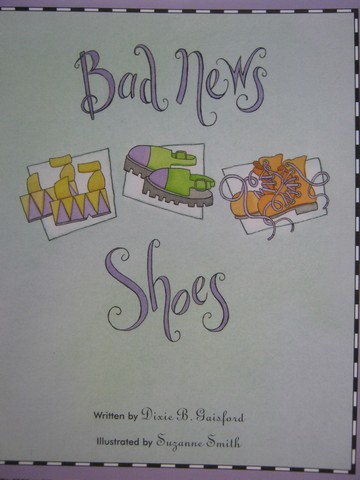 Read-Along Bad News Shoes (P) by Dixie B Gaisford