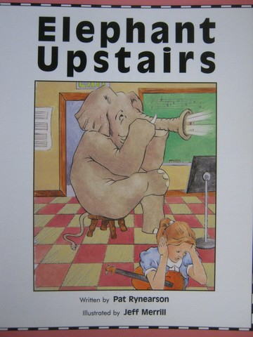 Read-Along Elephant Upstairs (P) by Pat Rynearson