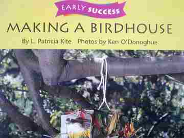 Early Success 1 Making a Birdhouse (P) by L Patricia Kite - Click Image to Close