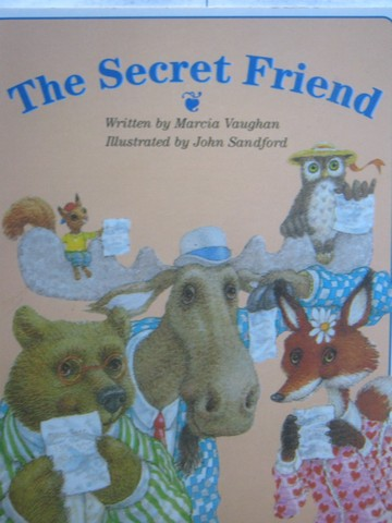 Little Readers The Secret Friends (P) by Marcia Vaughan