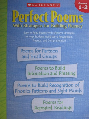 Perfect Poems with Strategies for Building Fluency Grades 1-2(P)