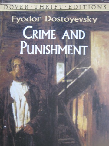 Crime & Punishment Dover Thrift Editions (P) by Dostoyevsky