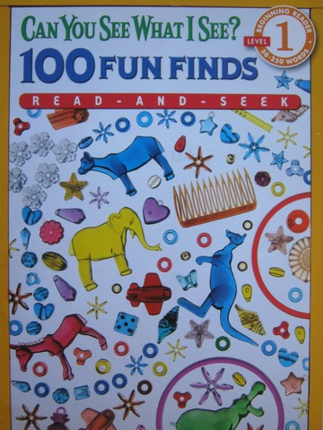 Can You See What I See? 100 Fun Finds (P) by Walter Wick