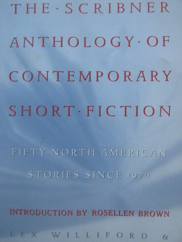 Scribner Anthology of Contemporary Short Fiction (P)