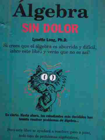 Algebra Sin dolor (P) by Lynette Long