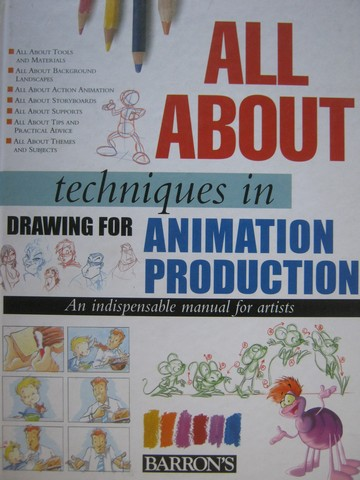 All About Techniques in Drawing for Animation Production (H)