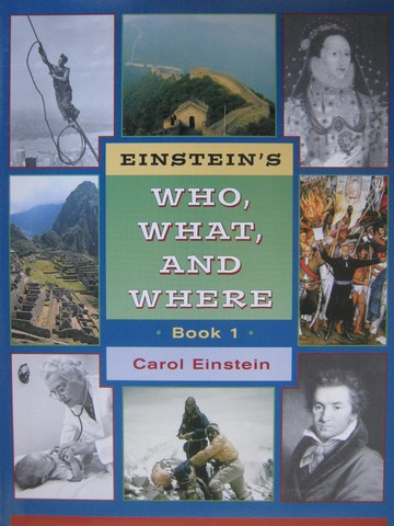 Einstein's Who What & Where Book 1 (P) by Carol Einstein
