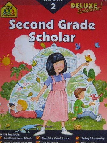 Second Grade Scholar Grade 2 Deluxe Edition! (P) by Schwartz,