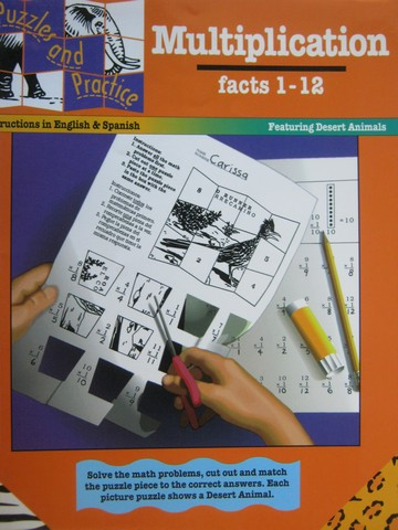 Puzzles & Practice Multiplication Facts 1-12 (P) by Lawrence