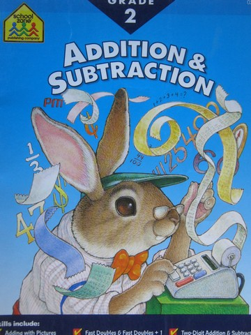 Addition & Subtraction Grade 2 (P) by Lorie DeYoung