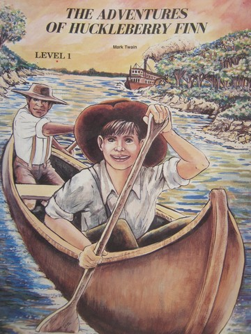 Adventures of Huckleberry Finn Level 1 (P) by Mark Twain